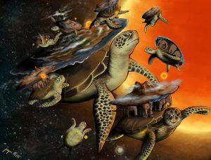 Tohle jevelká želva